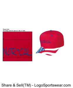 The Patriotic Look Structured Firm Front Panel Cap Design Zoom